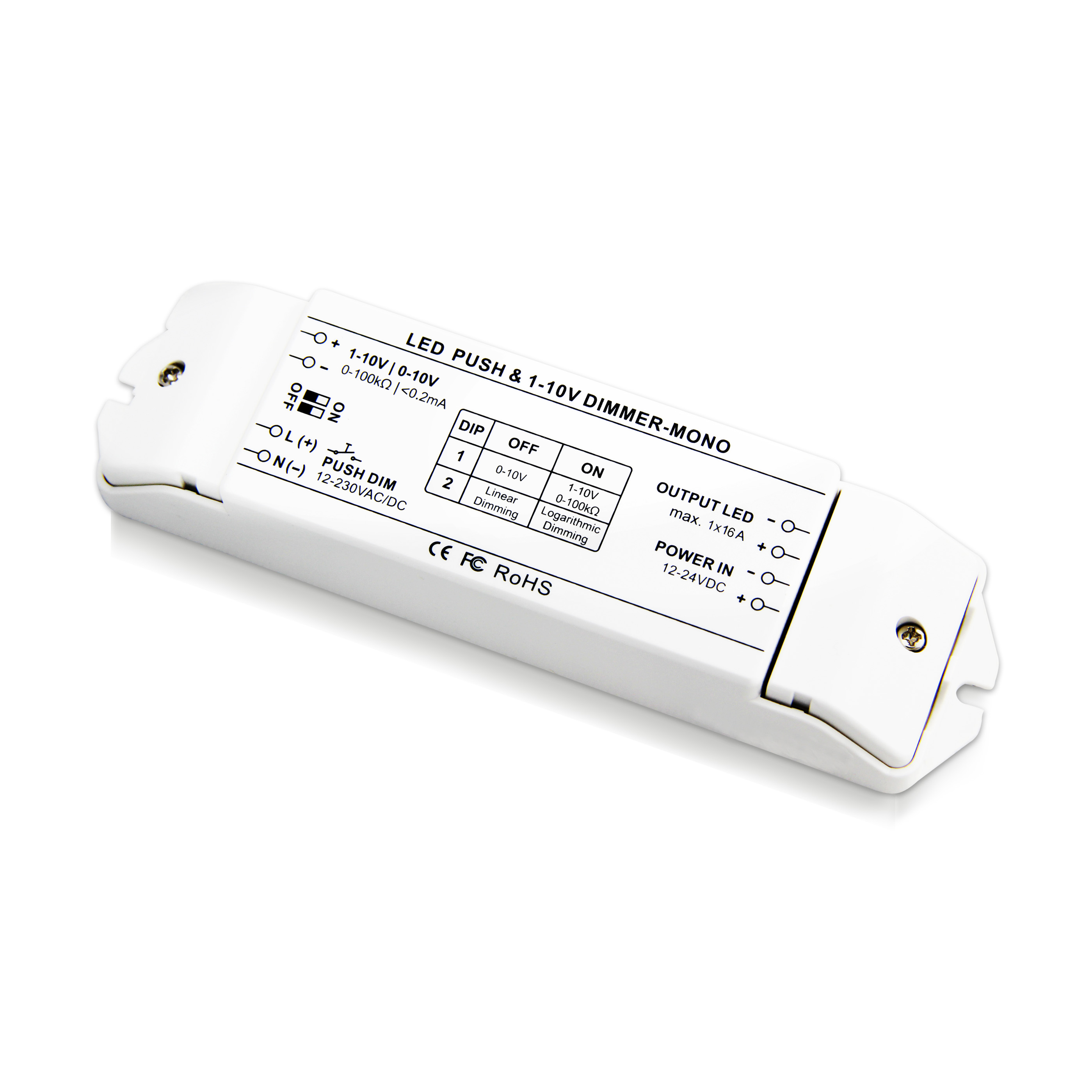 0/1-10V 调光驱动器(BC-331-16A)