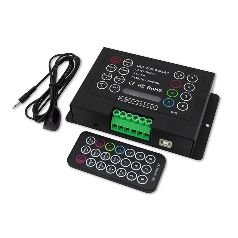恒压型多功能RGB控制器(BC-380-6A)