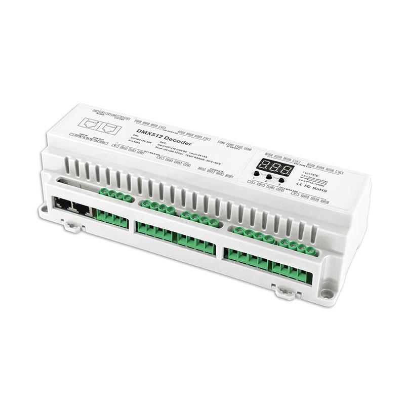24路DMX512恒压解码器(BC-624-DIN)