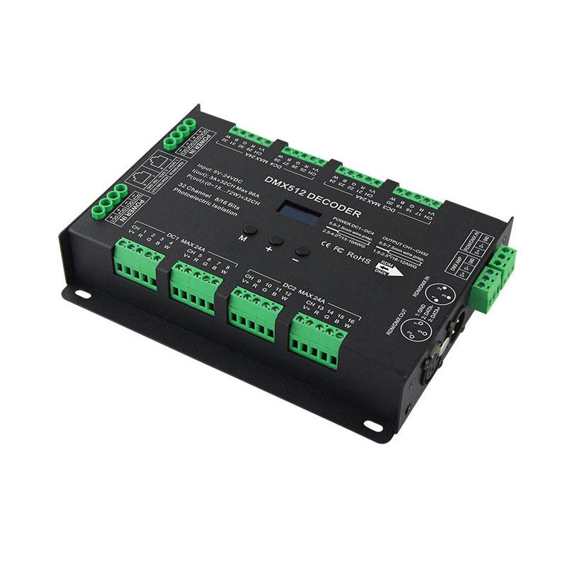 32路DMX512恒压解码器(BC-632)