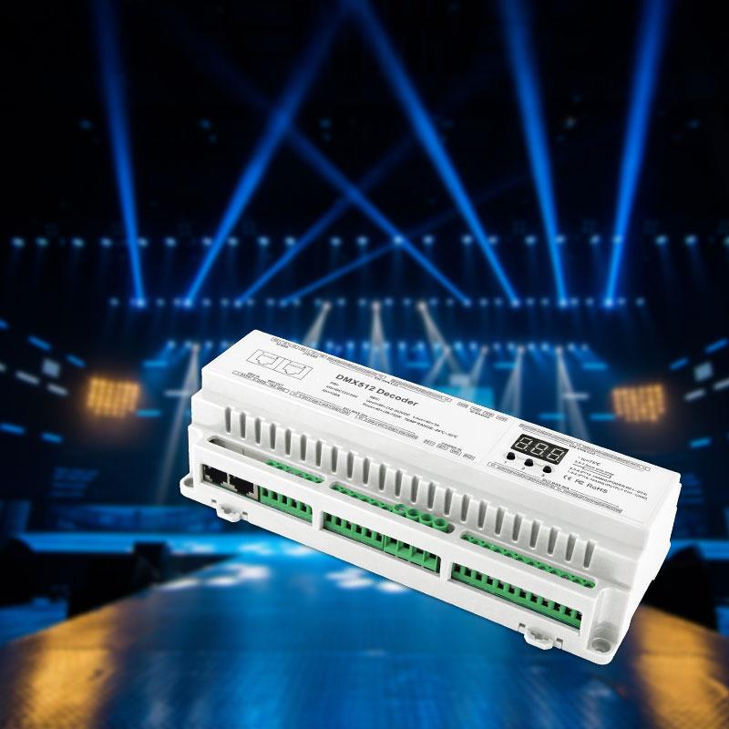 <span>40路DMX512解码器(BC-640-DIN)</span>