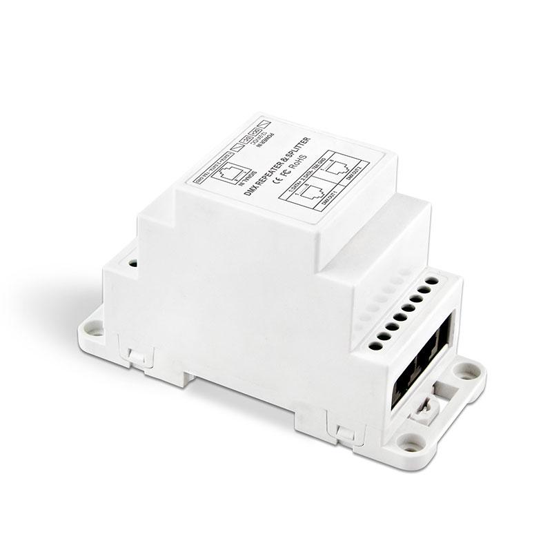 导轨式DMX512信号放大器(BC-812-DIN-RJ45)