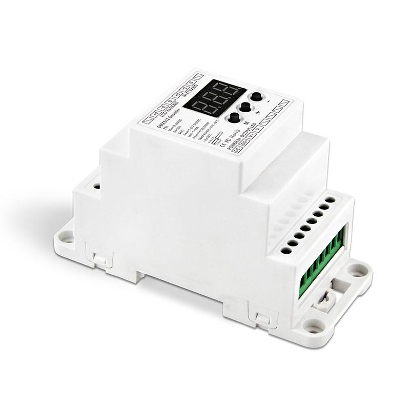导轨式单路DMX512恒压解码器(BC-831-DIN)