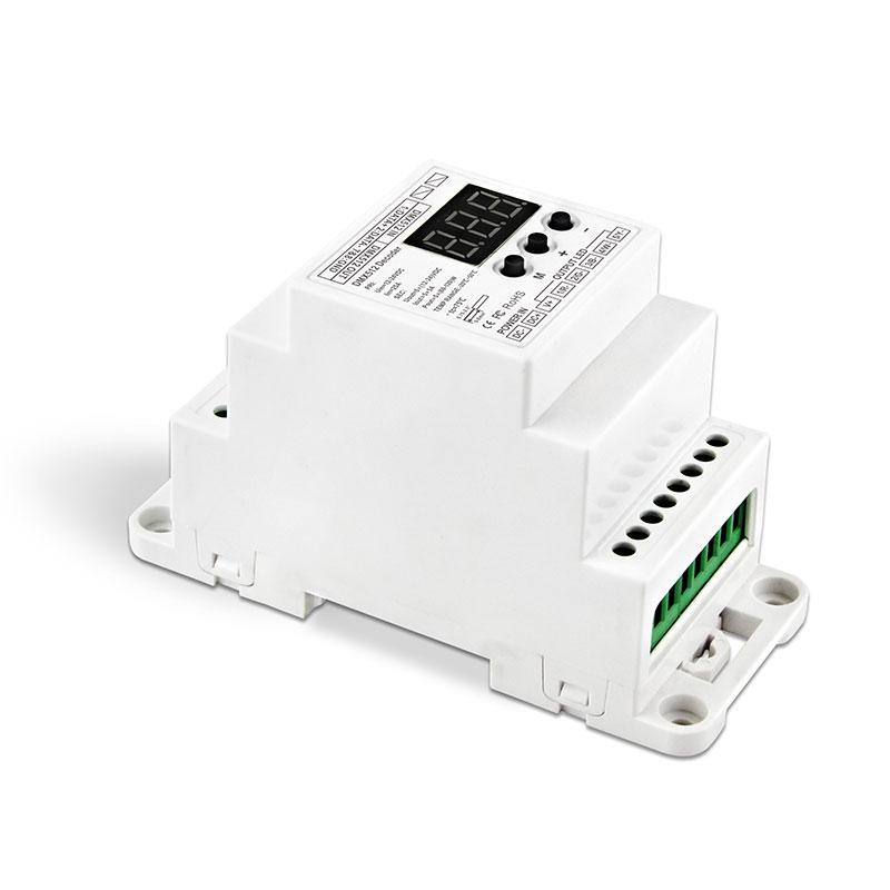 5路DMX512恒压解码器(BC-835-DIN-RJ45)