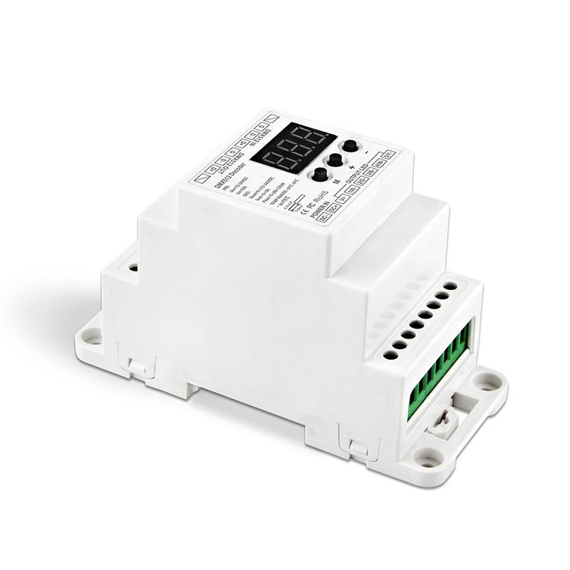 5路DMX512恒压解码器(BC-835-DIN)