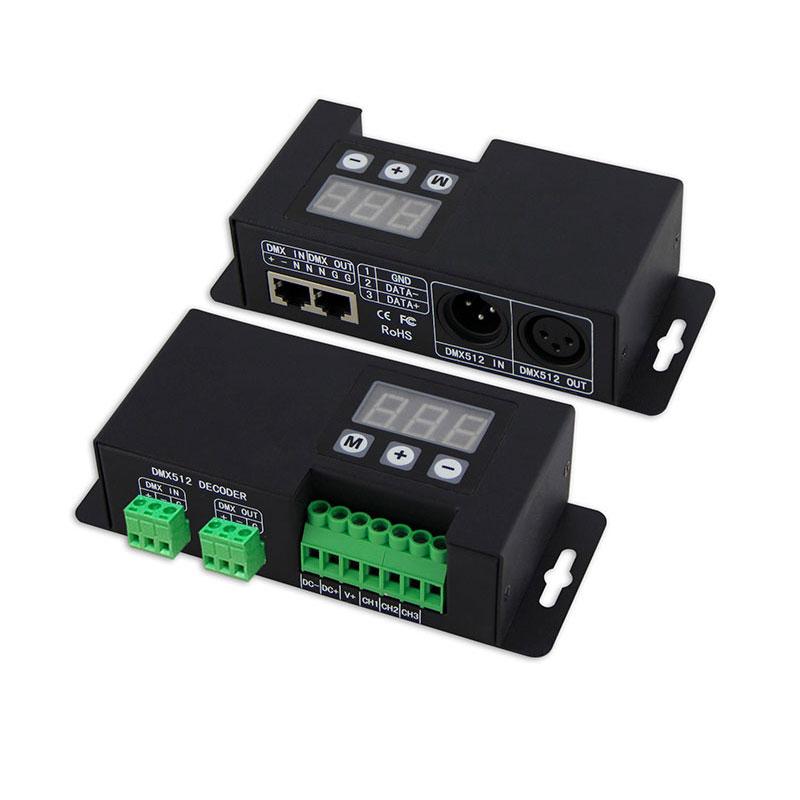 DMX512恒压型3路解码器(BC-853)