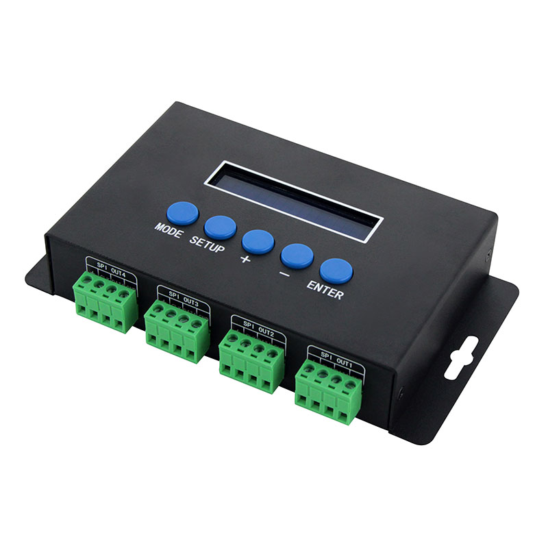 Ethernet-SPI/DMX像素灯控制器(BC-204)