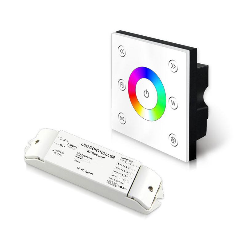 无线单区恒流型RGBW控制面板(P4X+R4-CC-2.4G)