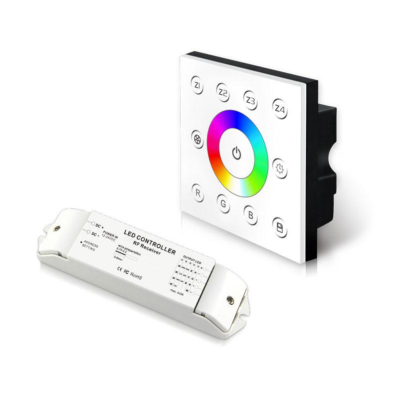 无线多区恒压型RGB控制面板(P7X+R4-2.4G)