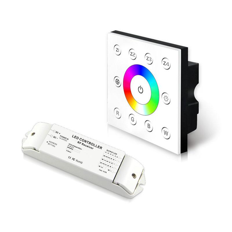 无线多区恒压型RGBW控制面板(P8X+R4-2.4G)